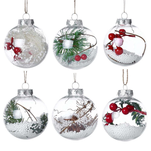 Hanging Crystal Balls for Christmas