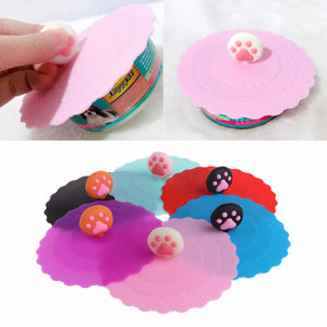 Pet Silicone Lid