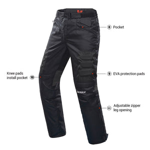 Cold-proof Motorcycle Protective Gear Set