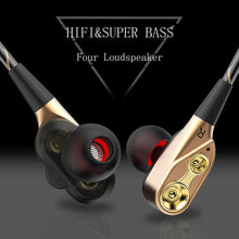 Dual Bass Earphones