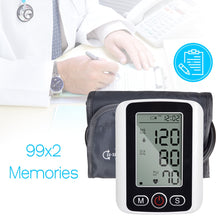 Portable Blood Pressure  Arm Pulse Monitor