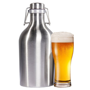 Stainless Steel Wine/Beer Mini Barrel