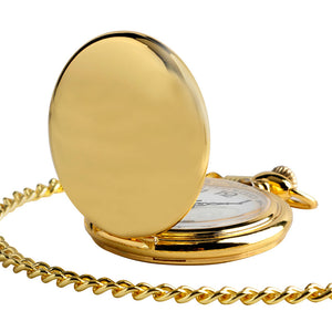 Vintage Golden Stainless Steel Fob Watch