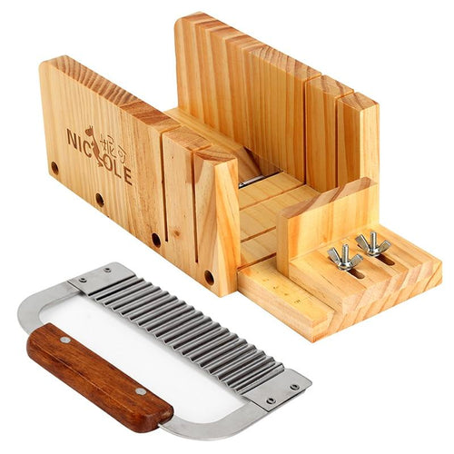 Soap Making Adjustable Wood Loaf Cutter Box