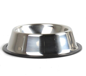 Anti-slip Round Stainless Feeding Bowl