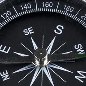 Aluminum Pocket Compass