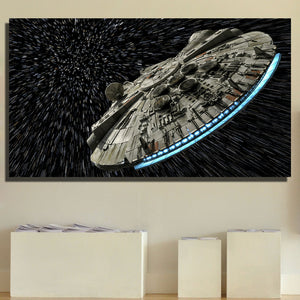 Star Wars Oil Painting Wall Decor