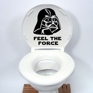 Star Wars Toilet Seat Sticker