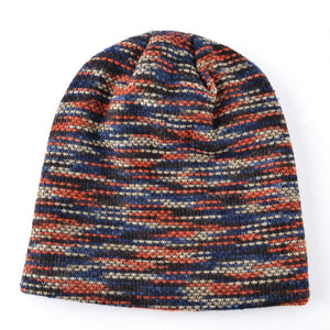 Multicolor Knitted Beanies