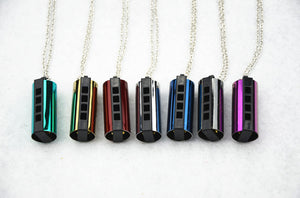 4 Holes Harmonica Necklace