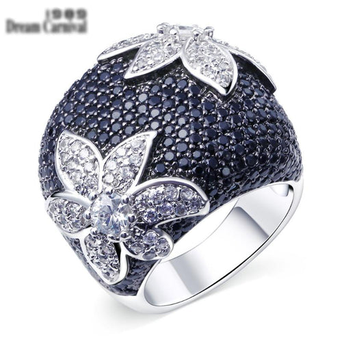 Flower Cocktail Ring