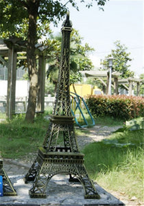 Eiffel Tower Figurine Statue Metal Crafts
