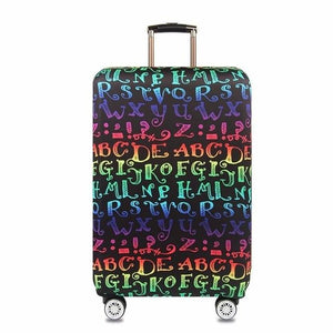 Letter Patterned Luggage Protector