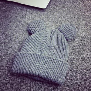Cute Ears Knitted Beanies