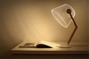 3D Effect Stereo LED Desk Lamp
