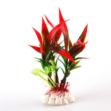 Plastic Plant Grass Aquarium Decoration