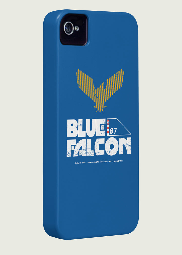 Blue Falcon Gaming Phone Case Inspired By F-Zero