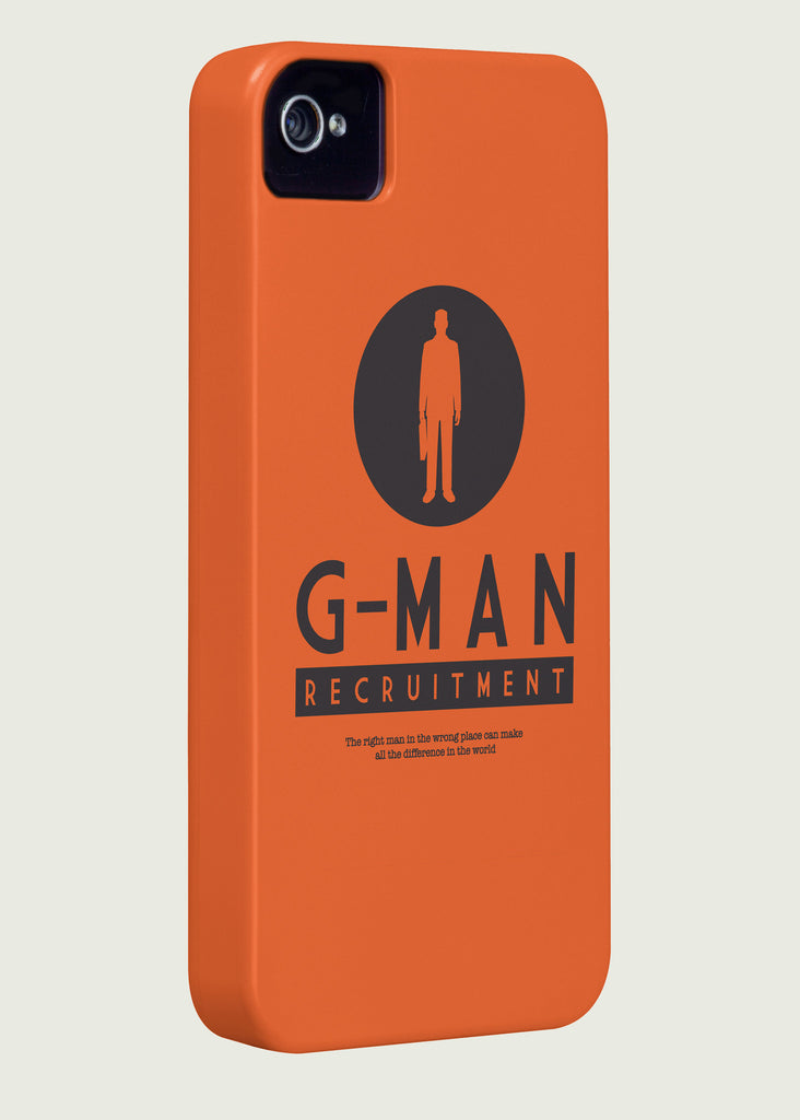 G-Man Recruitment Gaming Phone Case Inspired By Half-Life