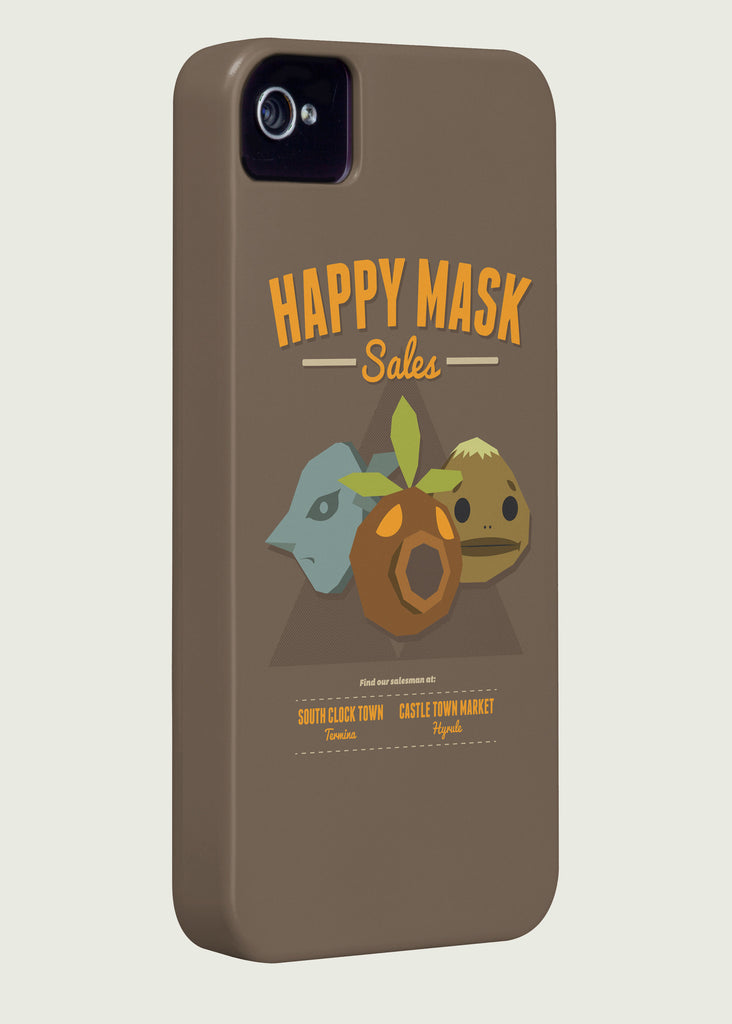 Happy Mask Sales Gaming Phone Case Inspired By The Legend Of Zelda