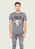 Men's L.A. Noire Inspired Phelps Private Detective Grey Gamer T-Shirt