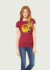 Women's Red Sunset Sarsaparilla Gamer T-Shirt