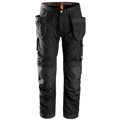 Snickers 6201 AllroundWork Holster Pocket Work Trousers (0404 Black)