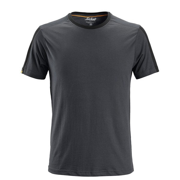 Snickers 2518 AllroundWork T-Shirt (5804 Steel Grey/Black)