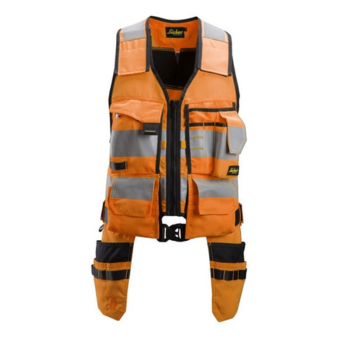 Snickers 4230 AllroundWork High Vis Toolvest (5504 Orange/Black)
