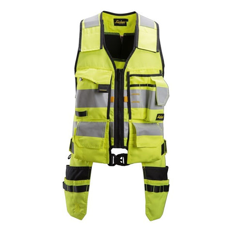 Snickers 4230 AllroundWork High Vis Toolvest (6604 Yellow/Black)