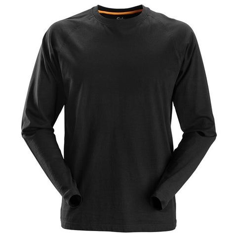 Snickers 2410 AllroundWork Long Sleeve T-Shirt (0400 Black)