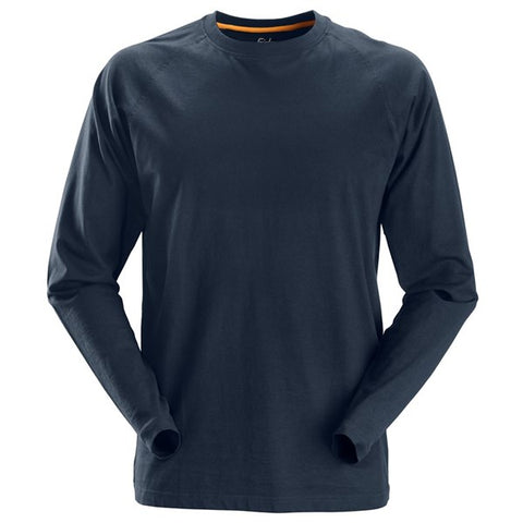 Snickers 2410 AllroundWork Long Sleeve T-Shirt (9500 Navy)