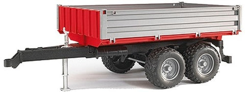 Bruder Platform Gate Tipping Trailer