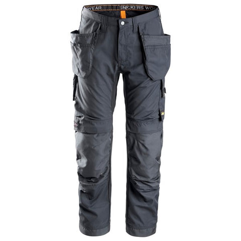 Snickers 6201 AllroundWork Holster Pocket Work Trousers (5858 Steel Grey)