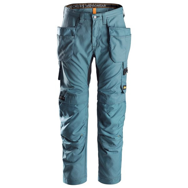 Snickers 6201 AllroundWork Holster Pocket Work Trousers (5151 Petrol)