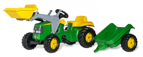 Rolly Kid John Deere Tractor/Trailer/Loader