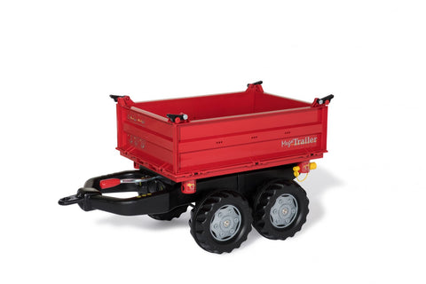 Rolly Mega Trailer RED - Twin Axel