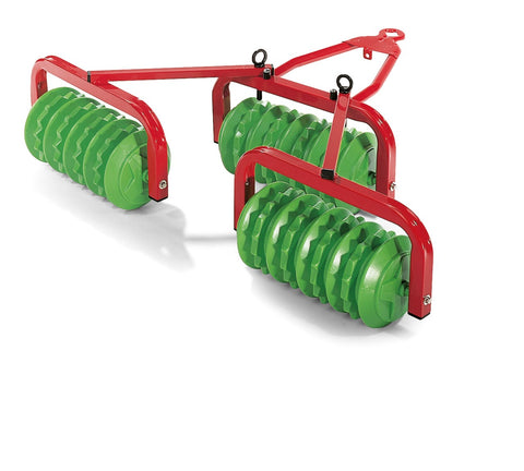 Rolly Disc Harrow (Red/Green)