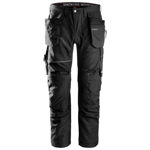 Snickers 6202 RuffWork, Work Trousers+ Holster Pockets (0404 Black)