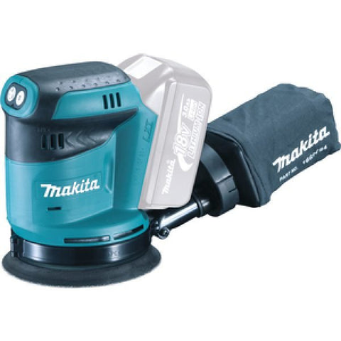 MAKITA DBO180Z 18V LXT 125MM RANDOM ORBIT SANDER BODY ONLY