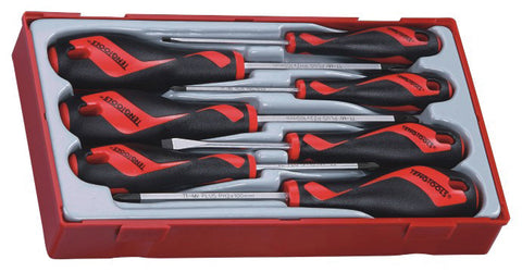 Teng TT917N 7 Piece Flat, PH & PZ Type Screwdriver Set