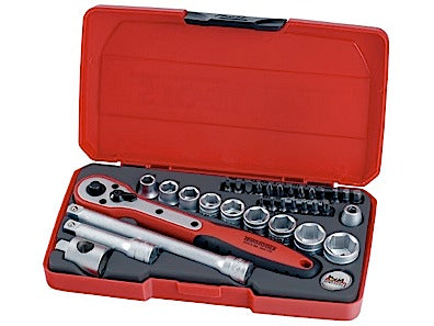 "TengTools T3834 34 Piece 3/8€"" Socket Set"