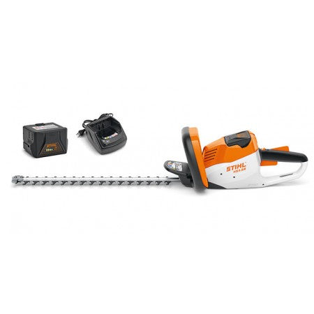 STIHL HSA56 Hedgetrimmer Set - 45cm Battery and Charger included