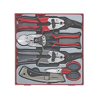 TENG TOOLS CUTTING TOOL SET 5 PIECES 6660X