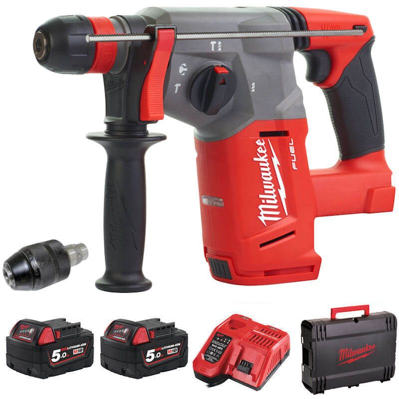 MILWAUKEE M18CHX-502X M18 FUEL SDS+ HAMMER