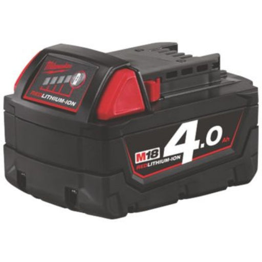 Milwuakee M18 Red Lithium Ion Battery 4.0AH 18V