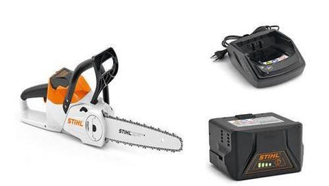 Stihl MSA 120 C-BQ Battery Chainsaw With 2x AK 20 battery & AL 101 Charger