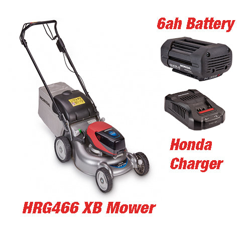 Honda HRG466 XB Battery Mower (Set)