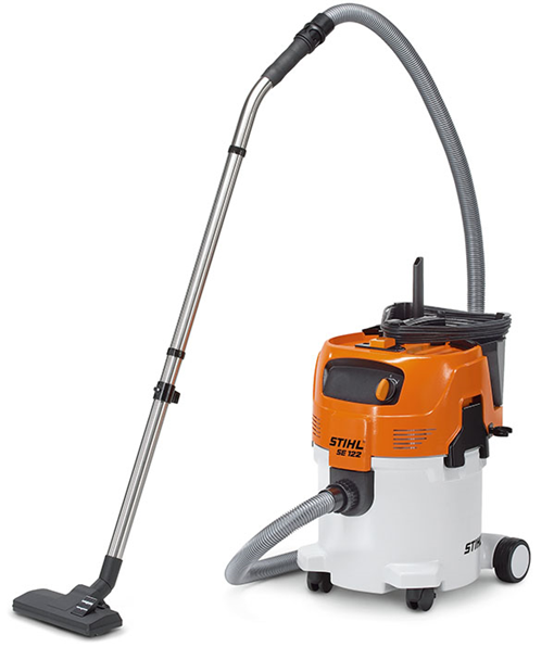 Stihl SE 122 E Powerful wet and dry vacuum cleaner with automatic switch-on function