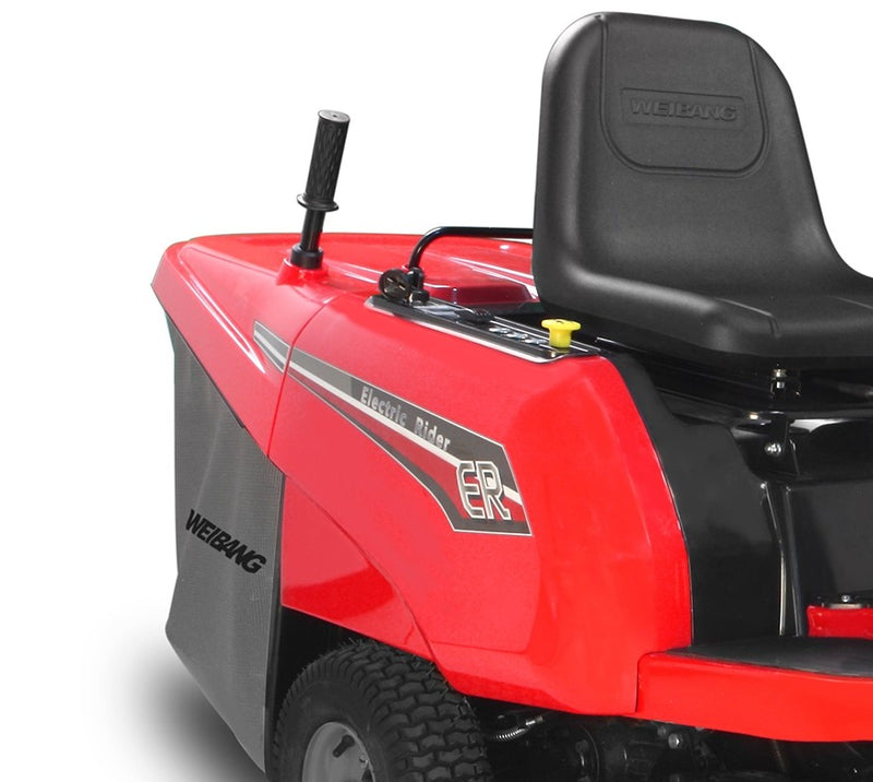 Weibang WB81EC-B E-Rider Battery Ride On Lawnmower