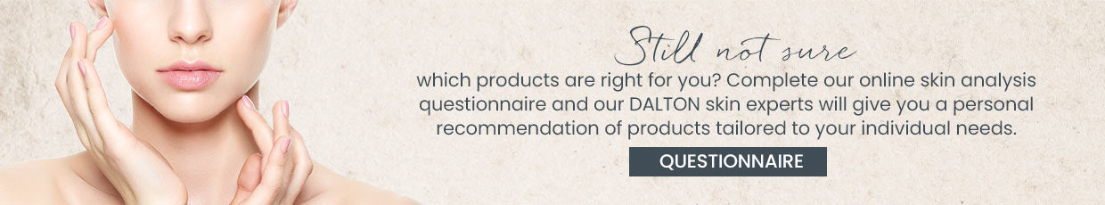 Complete our questionnaire and get a personal recommendation of products tailored to your skin's needs